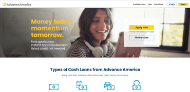 Advance America Installment Loan